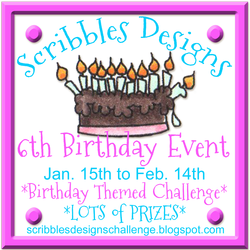 Scribbles 6th Birthday
