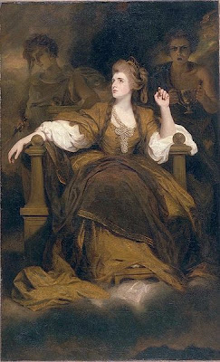 Portrait of Mrs Siddons as The Tragic Muse by Joshua Reynolds