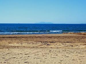 El mar Mediterráneo. Salou