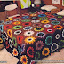 Friends look that cute. Floral quilt squares. I loved it.