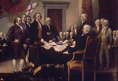 The Signing of the Articles of Confederation