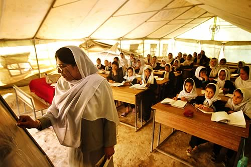 What is education like in afghanistan elections