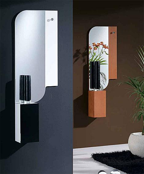 Decoraci n de interiores recibidores modernos y minimalistas - Recibidores minimalistas ...