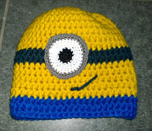 Simis Bastelecke Minion Mütze