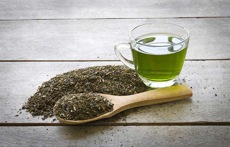 الشاي الاخضر مفيد للبشرة