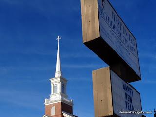 Methodist Church steeple