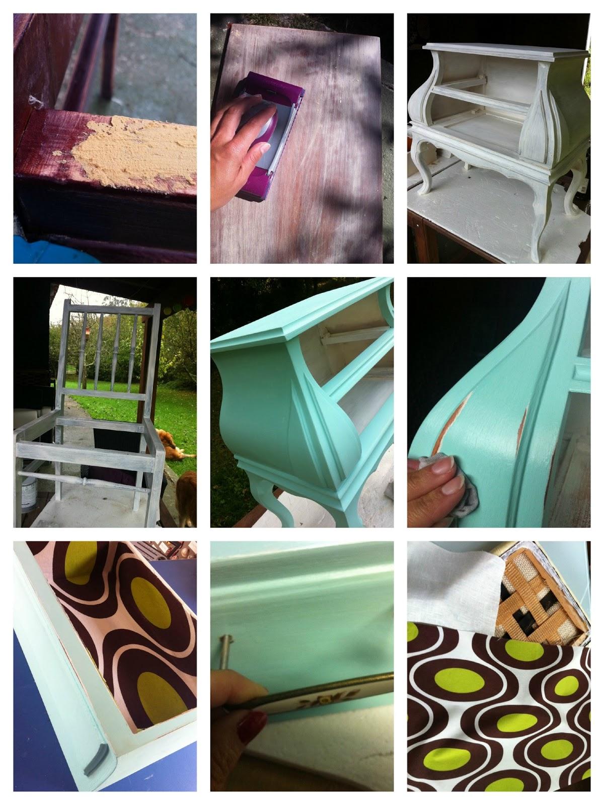 Diy x4duros 39 13 conjunto aguamarina de telas cajas y - Grapadora para tapizar muebles ...