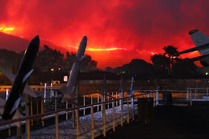 Growing Wildfire Along The Pacific Coast Highway