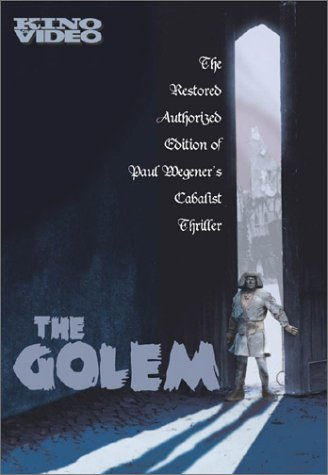 The Golem 1920 psoter