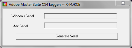 Master Collection Cs4 Key Generator