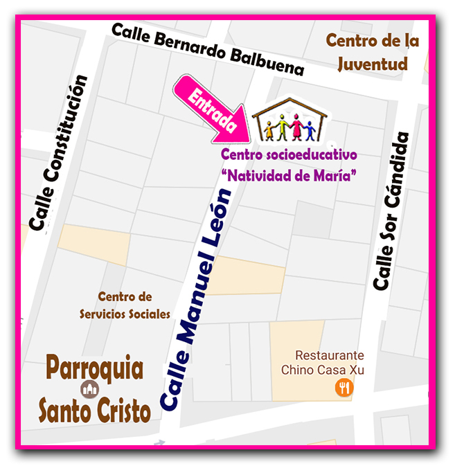Localización del Centro