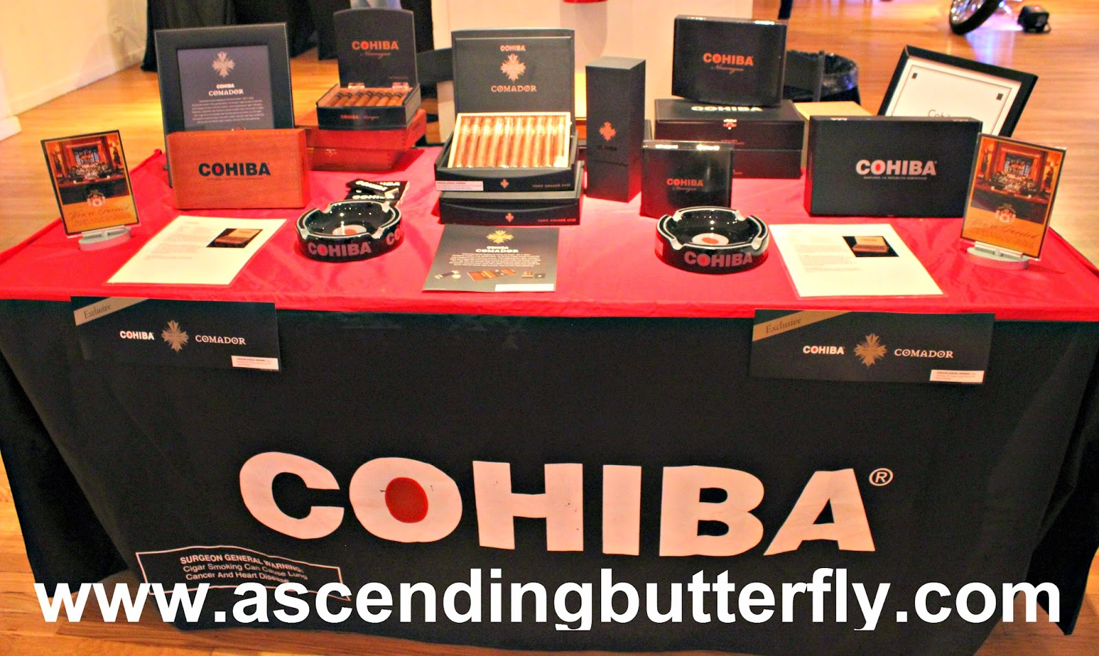 Cohiba Cigars at The Luxury Review