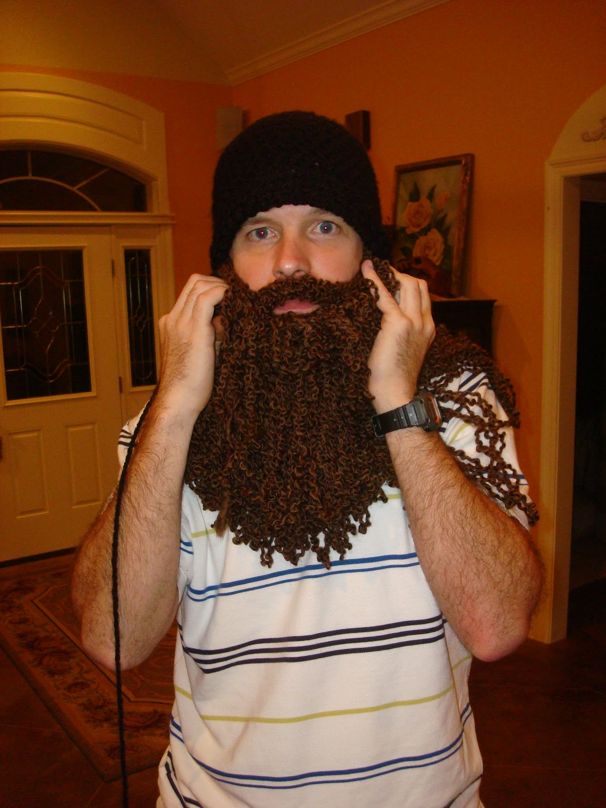 "Duck Dynasty"" Crochet Beard"
