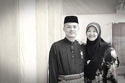 Disebalik kejayaan seorang suami adalah kehadiran sang isteri yang sentiasa  memberi sokongan..