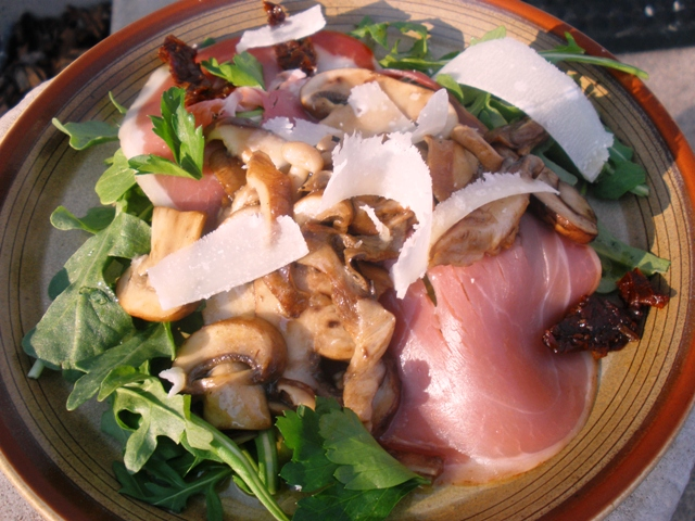 Journey of an Italian Cook: Warm Mushroom Salad