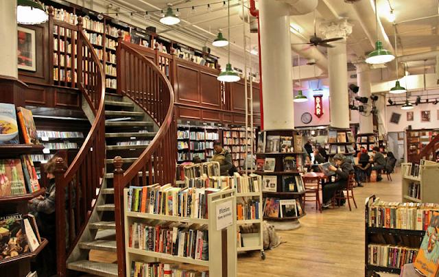 Livrarias em Nova York