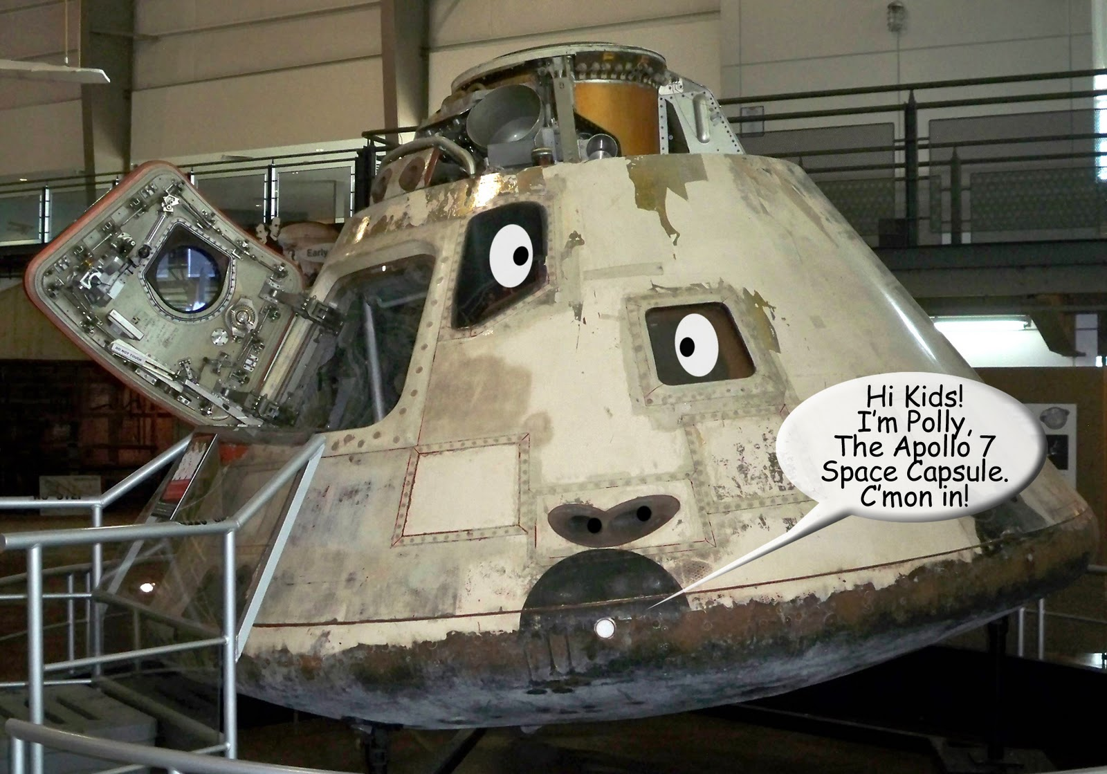 Seeing Things: Apollo 7 Space Capsule