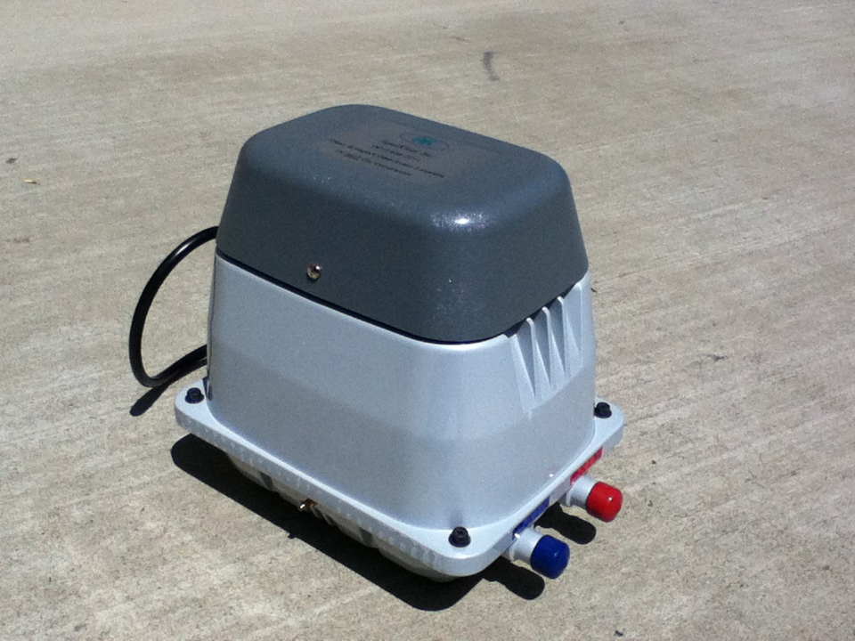 Septic Tank Blower : Kleartalk by better than septic two outlets are
