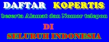 pembagian kopertis wilayah di indonesia di bagi menjadi 12 yang