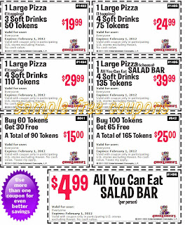 Chuck E Cheese Coupons January 2014Chuck E Cheese Games 2014