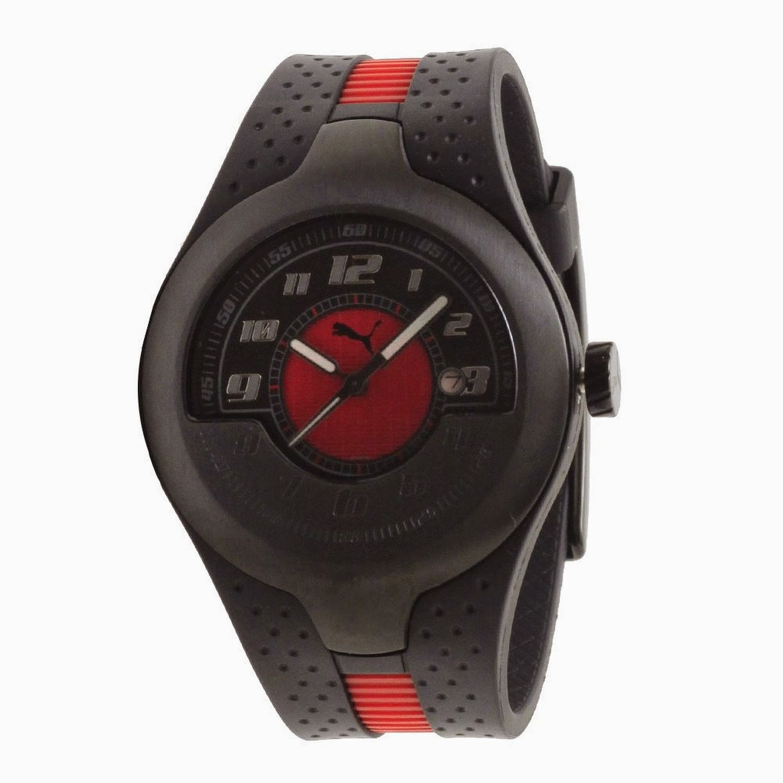 Puma Piston Analog Black Men's Watch for Rs 1999