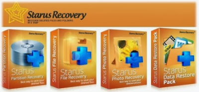 Download for free Starus Data Restore Pack 2013 Multilingual