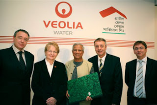 Grameen Veolia Water Bangladesh Yunus