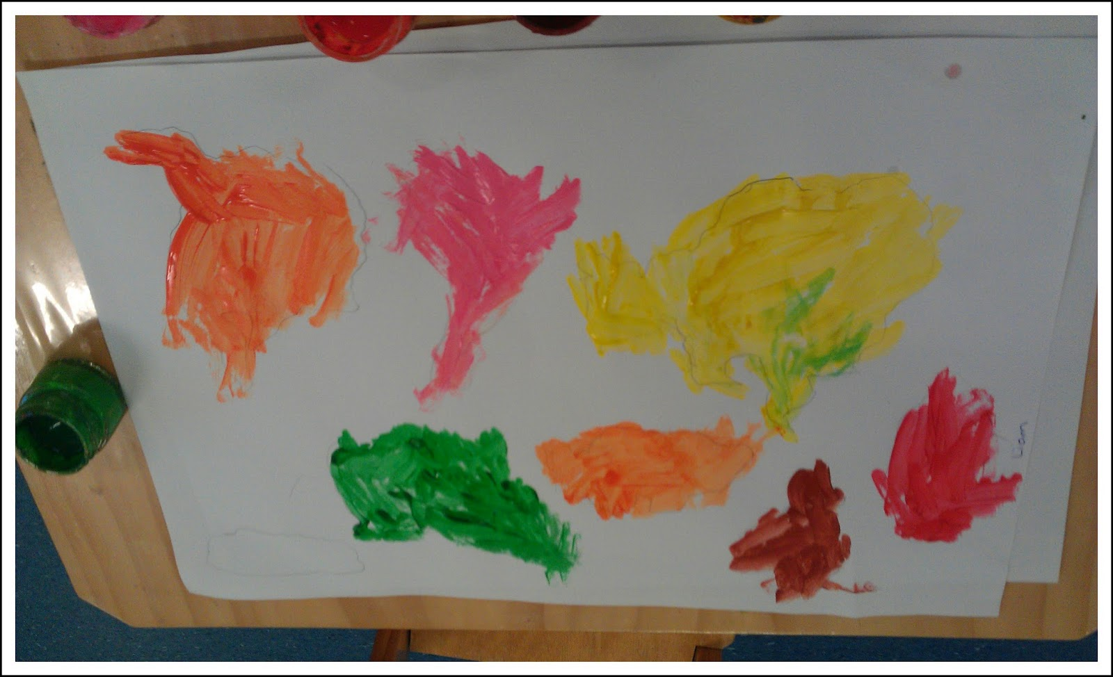 Teaching geography in the montessori classroom montessori nature the child trace and then paint all seven continents using the world map puzzle gumiabroncs Images