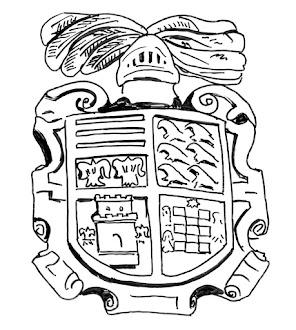 Escudo de la iglesia de San Esteban de Inclán