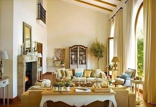 Dise o y decoraci n de la casa los colores de la casa al - Casas de estilo italiano ...