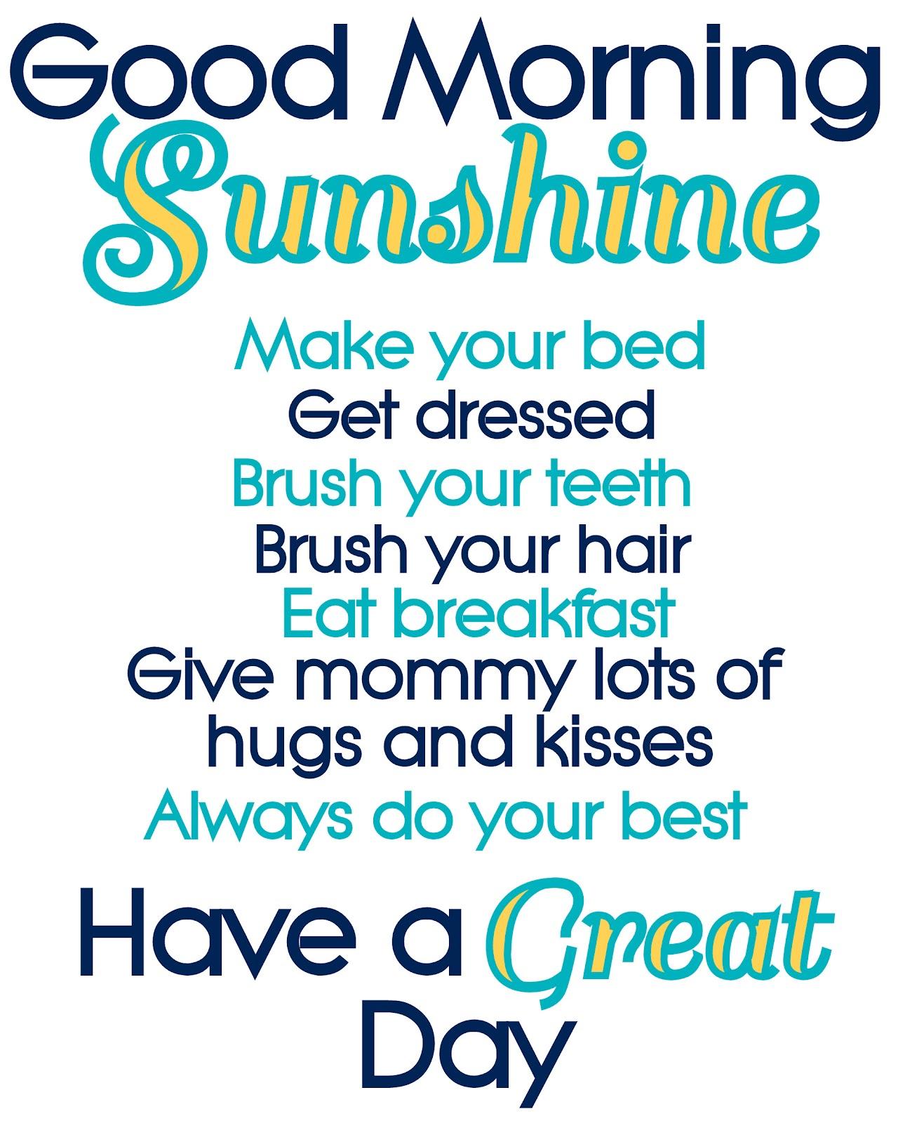 Good Morning Sunshine Lyric : The accidental baby maker making a rental home