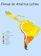 Mapas, mapas y más mapas climas de america latina final