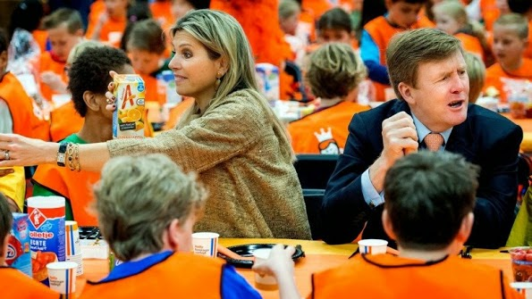 King Willem-Alexander And Queen Maxima Opens King's Games 2015