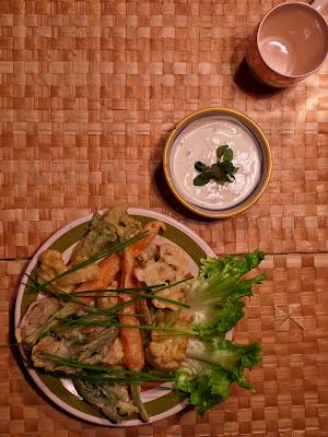 Frittelle di tempura