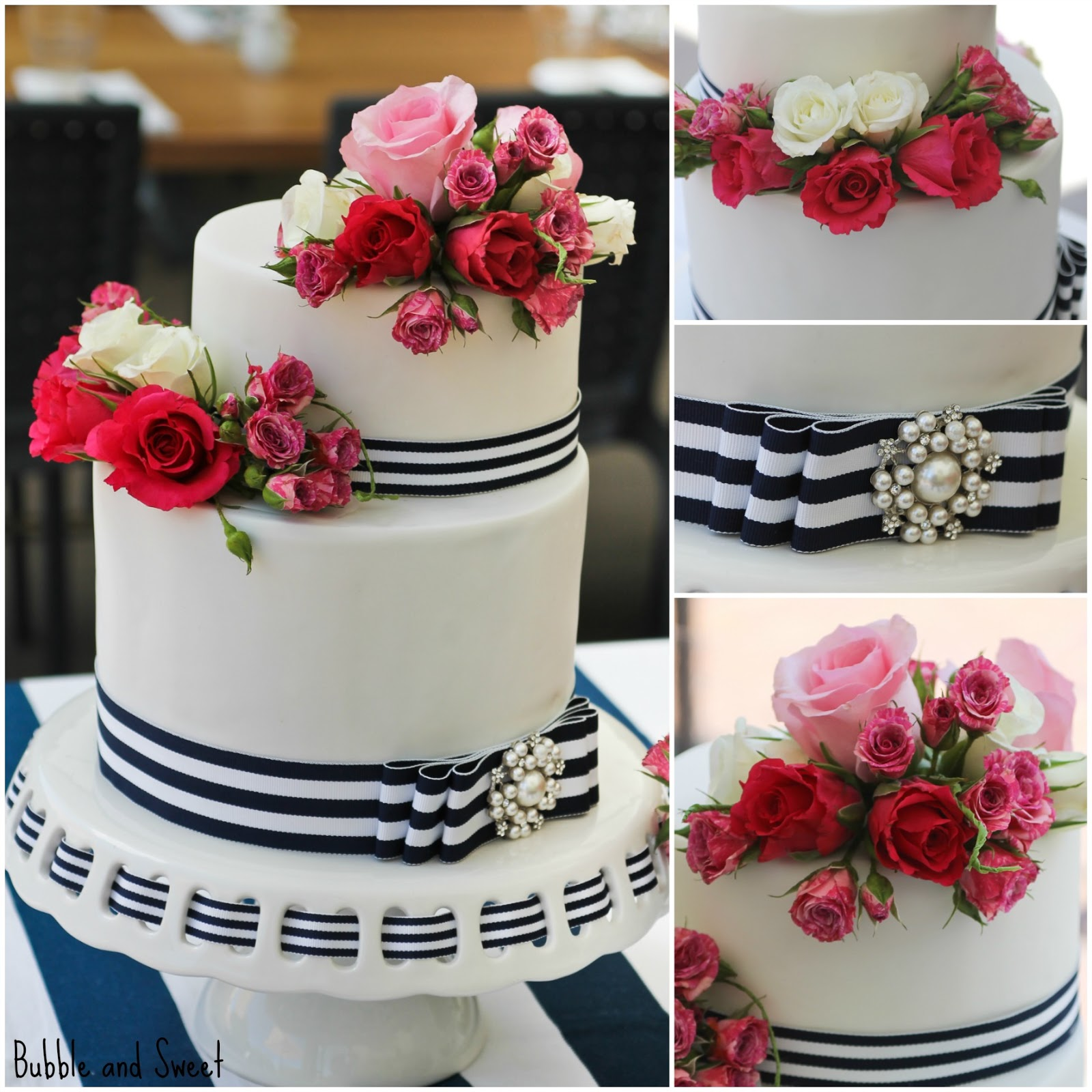 Wedding Ideas Navy and Hot Pink Wedding Theme