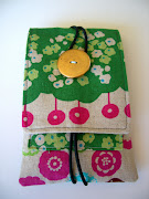 This is a cell phone pouch designed by me! I made many of these a couple of .