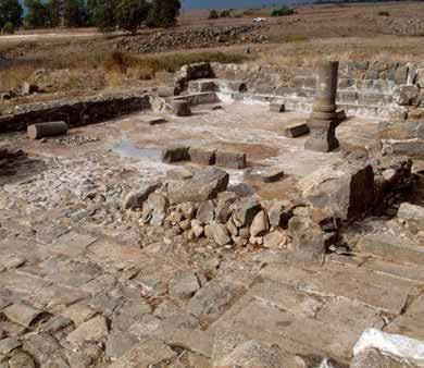 מבט כללי על בית הכנסת בעין נשוט, עם סיום עבודות הייצוב