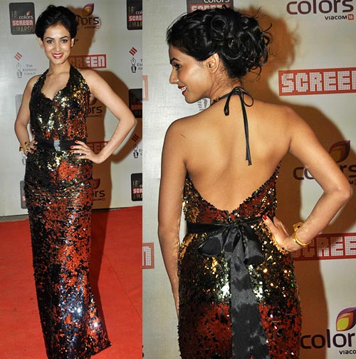 sonal chauhan dress