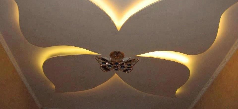 D coration de salon marocain plafond en platre suspendu for Le platre marocain moderne