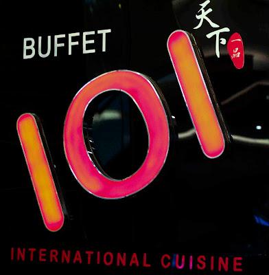 Buffet 101 signage