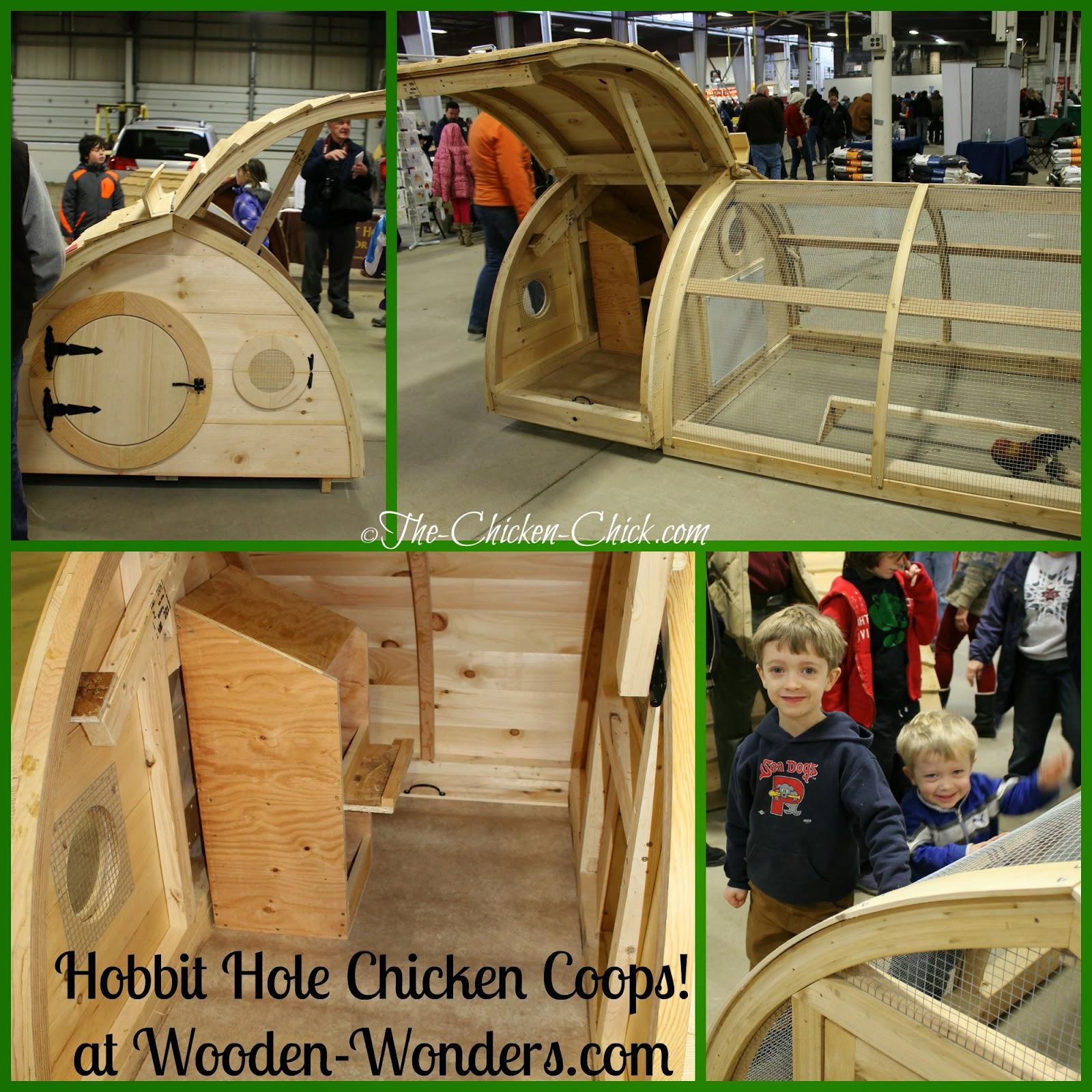Wooden Wonders Hobbit Hole chicken coops