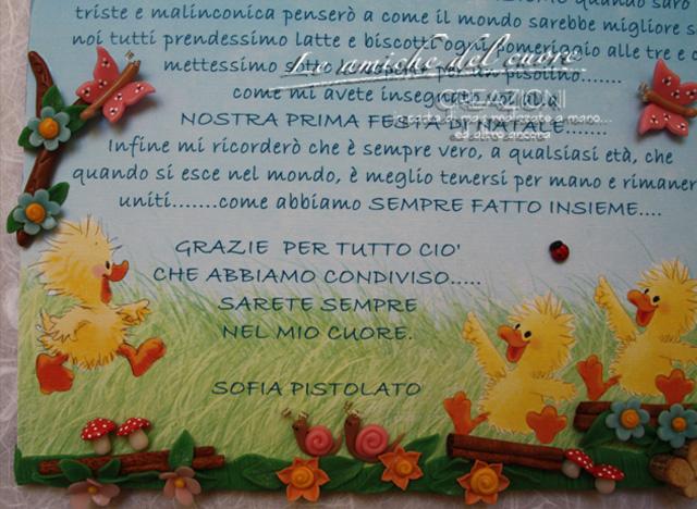 Preferenza DOLCI CREAZIONI IN PASTA DI MAIS: ALTRI REGALI ALLE MAESTRE DELLA  VX48