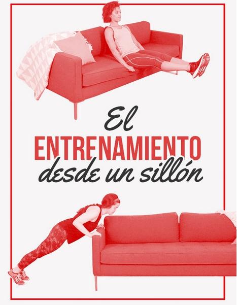 ejercicios desde el sofa