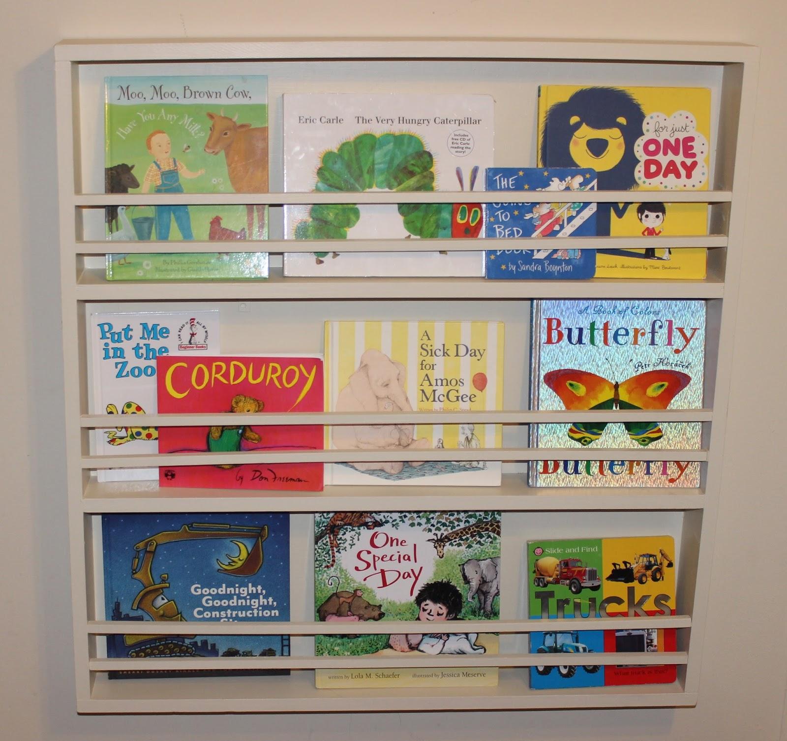 Busybliss finding the joy in the midst of motherly mayhem for Diy kids bookshelf ideas