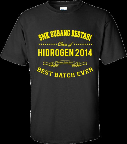 Baju T-Shirt Kelas 2014