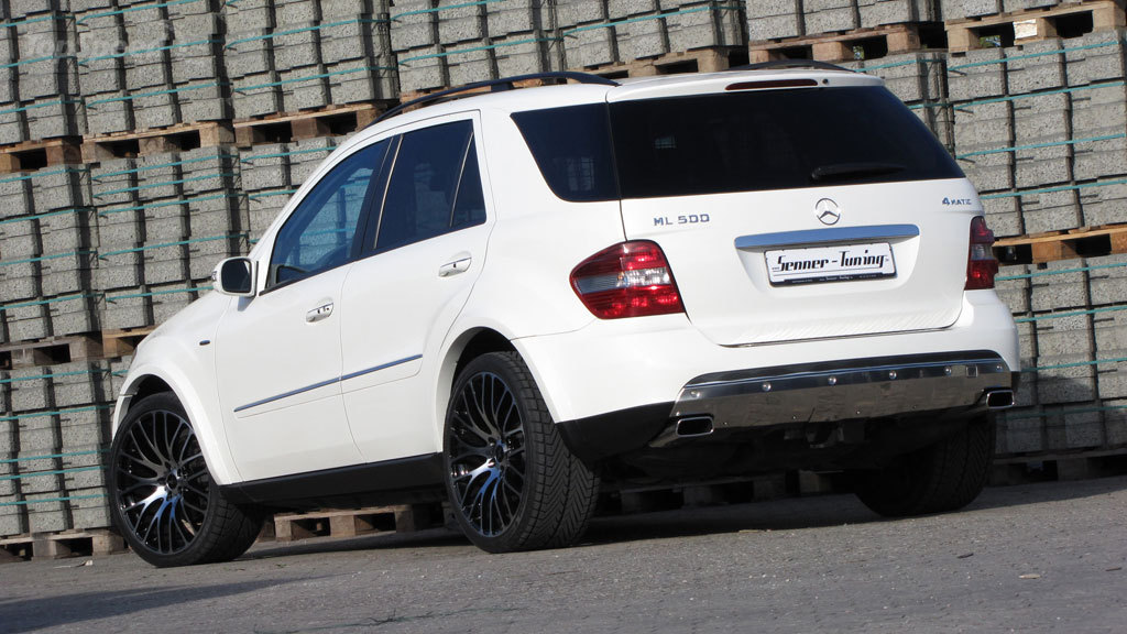mercedes benz ml500 senner tuning w164 benztuning. Black Bedroom Furniture Sets. Home Design Ideas