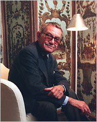 The devoted classicist albert hadley the zen of seeing Albert hadley