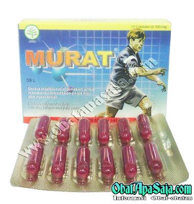 Murat Pil/Kapsul Herbal Untuk Asam Urat