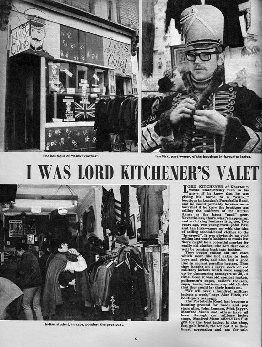Lord Kitchener S Valet