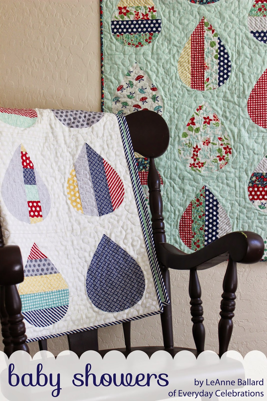 Everyday celebrations tutorial april showers baby quilt